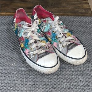 All Star Converse Super cute print sneakers shoes